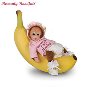 Heavenly Handfuls Poseable Baby Monkey Doll Collection