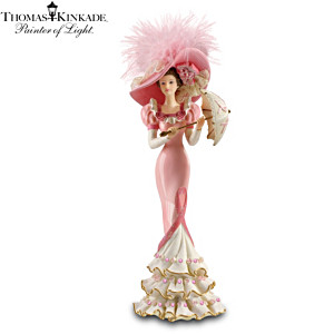 Thomas Kinkade Breast Cancer Awareness Figurine Collection