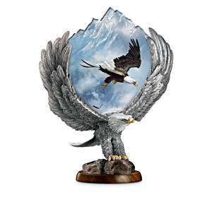 Ted Blaylock Mixed Media Eagle Sculptures Collection