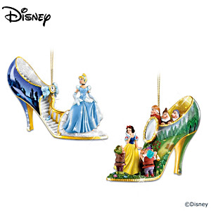 Disney Characters Shoe Ornament Collection