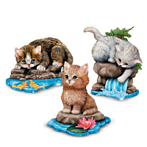 Jürgen Scholz Purr-fect Adventure Figurine Collection
