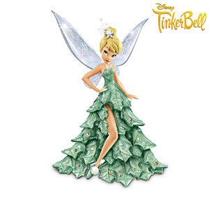Disney Leading Lady Figurines In Holiday Fashions