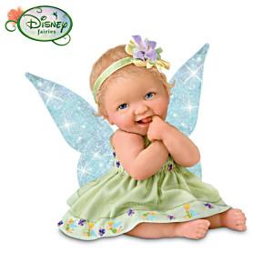 Ashton-Drake Presents Disney Tinker Bell Inspired Baby Dolls
