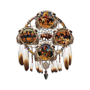 Glow-In-The-Dark Warrior Dreamcatcher Plate Collection