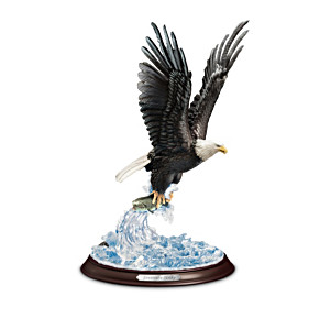 """Masters Of The Sky"" Eagle Sculpture Collection"