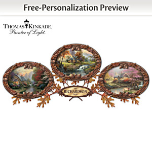 Thomas Kinkade Personalized Framed Canvas Print Collection