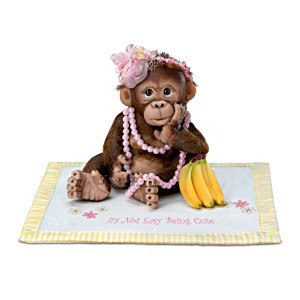 """Cindy Sales """"Couldn't Be Cuter"""" Monkey Babies With Blankets"""