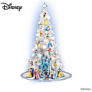 "The ""Magic Of Disney"" Illuminated Christmas Tree Collection"