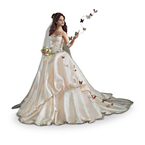 "Anna Hardman ""Wishes On Wings"" Bride Doll Collection"