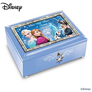 Disney FROZEN Heirloom Music Box Collection
