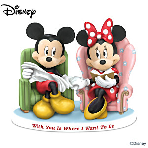 Disney Mickey And Minnie Magical Romance Figurine Collection