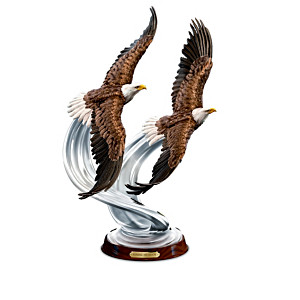 """Majesty In Flight"" American Bald Eagle Sculpture Collection"