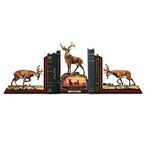 Hayden Lambson Sculpted Deer Bookends Collection