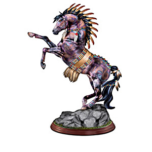 "Laurie Prindle ""The Spirit Of The Painted Pony"" Sculptures"