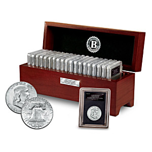 The Complete Franklin Silver Half Dollar Collection