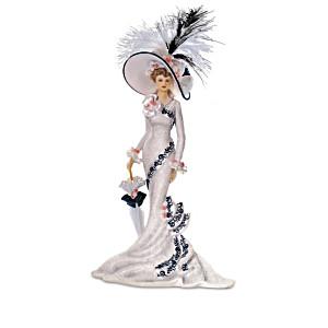 """Victorian Promenade"" Victorian Lady Figurine Collection"