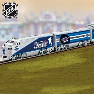 """Winnipeg Jets™ Express"" Illuminated Electric Train"