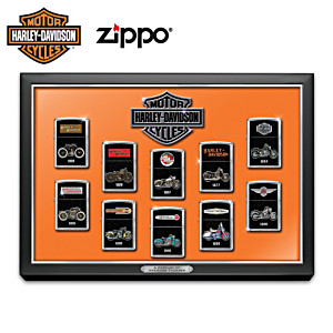 Harley-Davidson® Zippo® Collection With Display