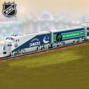 Vancouver Canucks® Express Electric Train Collection