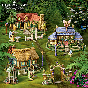 Thomas Kinkade Indoor/Outdoor Fairy Garden Collection