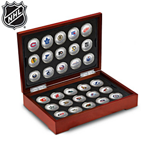 NHL® Centennial Silver-Plated Medallion Collection