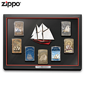 The Bluenose Zippo® Lighter Collection With Display