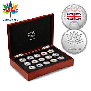 150th Anniversary Confederation Of Canada Medallions
