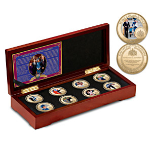 Duke And Duchess Royal Canadian Tour Medallion Collection