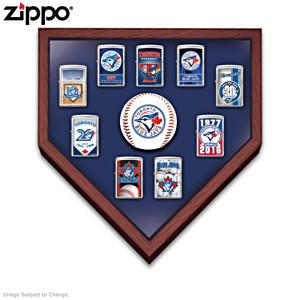 Toronto Blue Jays™ Zippo® Lighters With Display