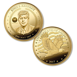 The John F. Kennedy 100th Anniversary Legacy Proof Coins