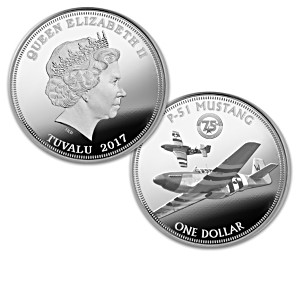 """The World War II Warbirds"" Silver Dollar Collection"