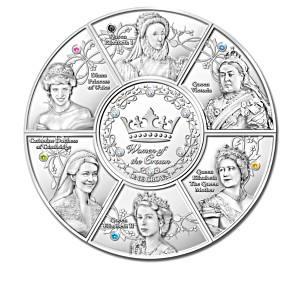 The Women Of The Crown One Crown Coin Collection With Case