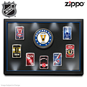Original Six™ Zippo® Collection With Lighted Case
