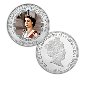 Queen Elizabeth II Jubilee Coin Collection With Deluxe Case