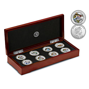 """Lake, River & Stream Fishing"" Silver-Plated Coin Collection"