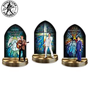 Elvis Presley Illuminated Gospel Music Sculpture Collection
