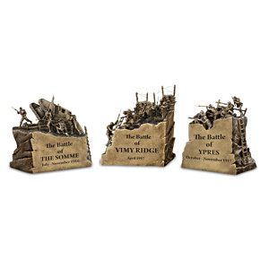 Famous Battles Of WWI Miniature Diorama Sculpture Collection