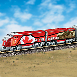 """Ode of Remembrance"" Express Train Collection WWI Tribute"