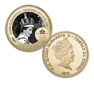 Queen Elizabeth II 65th Anniversary Tribute Coin Collection