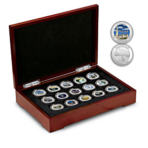 Canadian Provincial Silver-Plated Medallion Collection