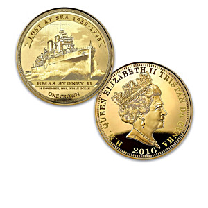 """Lost At Sea"" World War II Gold Crown Coin Collection"