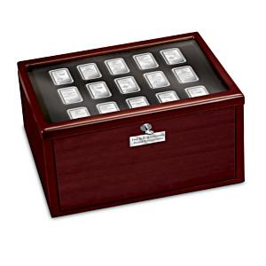 U.S. Statehood Ingot Collection With Deluxe Display Box