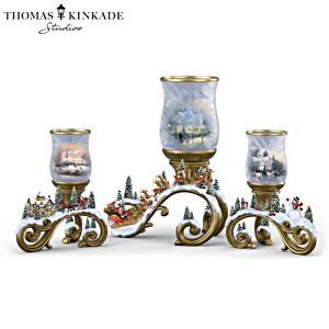 Thomas Kinkade Holiday Memories Candleholder Collection