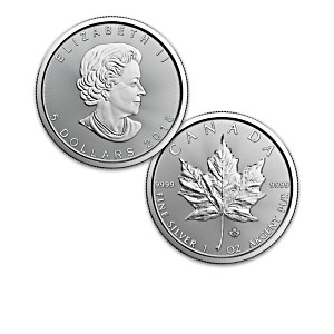 Complete 30th Anniversary Silver Maple Leaf Bullion Coins