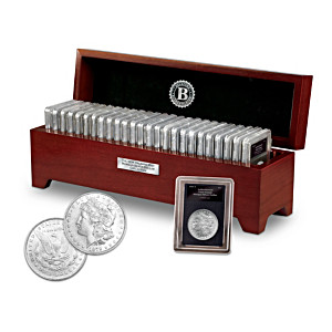 "The Complete ""O"" Morgan Silver Dollar Collection: 1879-1904"