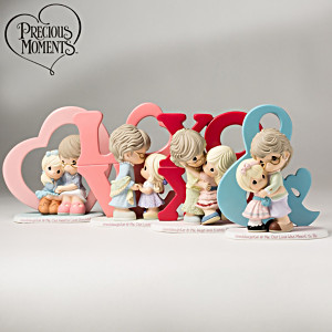 Precious Moments A Grandmother's Love Figurine Collection