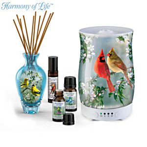 """Secrets Of The Garden"" Diffuser And Aromatherapy Collection"