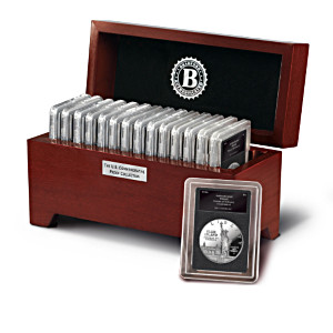 The Proof Commemorative U.S. Silver Dollars & Half Dollars