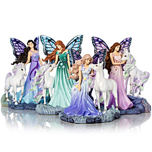 Jody Bergsma Mystic Wings Of Enchantment Figurine Collection