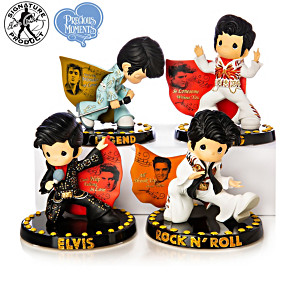 "Precious Moments ""Rocking With The King"" Figurine Collection"